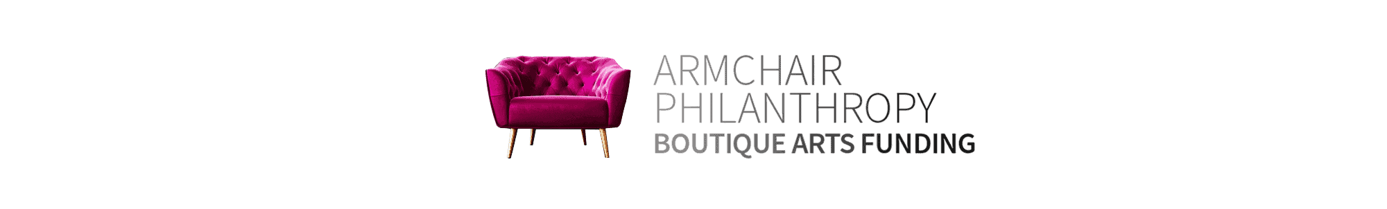 Armchair Philanthropy - Boutique Arts Funding